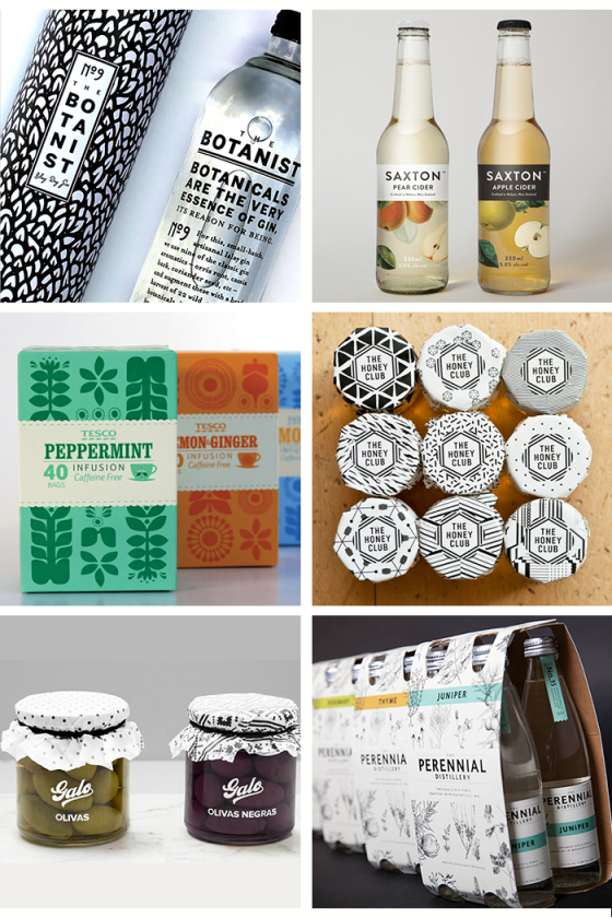 patterned packaging | dotted design